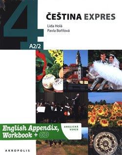 Obálka titulu Čeština expres 4 (A2/2) - anglicky + CD