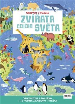 Obálka titulu Objevuj s puzzle: Zvířata celého světa