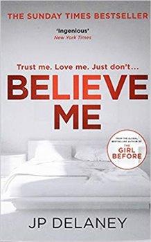 Obálka titulu Believe Me