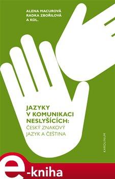 Obálka titulu Jazyky v komunikaci neslyšících