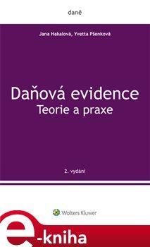 Obálka titulu Daňová evidence. Teorie a praxe