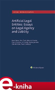 Obálka titulu Artificial Legal Entities: Essays on Legal Agency and Liability