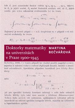 Obálka titulu Doktorky matematiky na univerzitách v Praze 1900-1945
