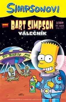 Obálka titulu Bart Simpson 3/2019: Válečník