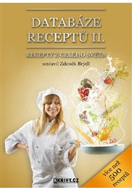 Databáze receptů II.