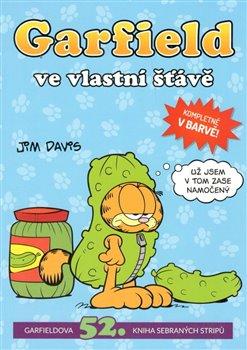 Obálka titulu Garfield ve vlastní šťávě č. 52