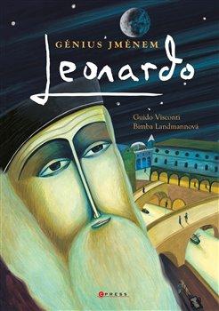 Obálka titulu Génius jménem Leonardo