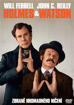 Obálka titulu Holmes & Watson