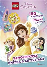 Lego Disney Princezna Samolepková knížka s aktivitami