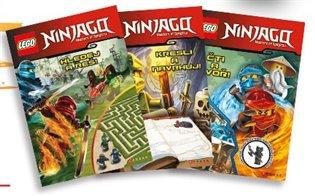 Lego Ninjago Krabička plná knih - - | Booksquad.ink