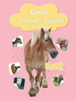 Obálka titulu Kniha s nálepkami zvířátek Koně