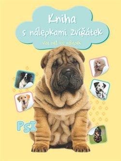 Obálka titulu Kniha s nálepkami zvířátek Psi