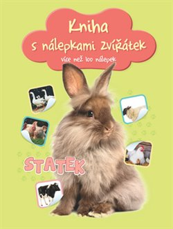 Obálka titulu Kniha s nálepkami zvířátek Statek