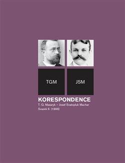 Obálka titulu Korespondence T. G. Masaryk - Josef Svatopluk Machar