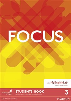 Obálka titulu Maturita Focus 3 Student's Book & MyEnglishLab Pack