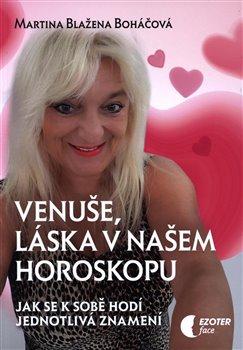 Obálka titulu Venuše, láska v našem horoskopu