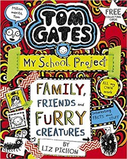 Obálka titulu Tom Gates 12: Family, Friends and Furry Creatures