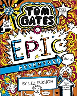 Obálka titulu Tom Gates 13: Epic Adventure (kind of)