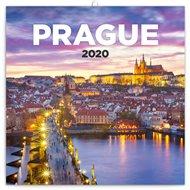 Poznámkový kalendář Praha 2020 nostalgická