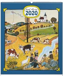 Obálka titulu Nástěnný kalendář Josef Lada – Rok na vsi 2020, 48 × 56 cm