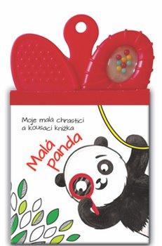 Moje malá chrastící a kousací knížka Malá panda
