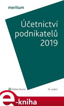 Obálka titulu Účetnictví podnikatelů 2019