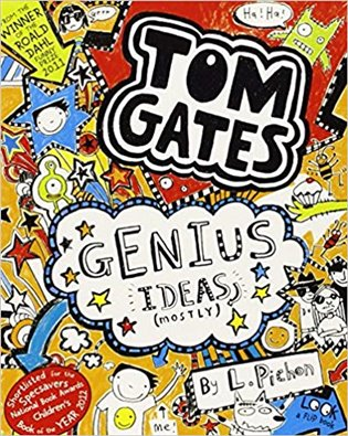 Tom Gates 4: Genius Ideas - Liz Pichon | Booksquad.ink