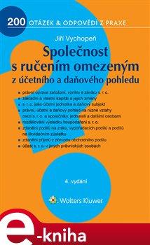 Obálka titulu Společnost s ručením omezeným z účetního a daňového pohledu, 4. vydání