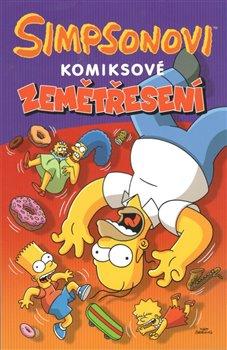 Obálka titulu Simpsonovi: Komiksové zemětřesení