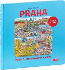 Obálka titulu Praha – Puzzle, omalovánky, kvízy