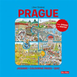 Obálka titulu Prague – Puzzles, Colouring, Quizzes