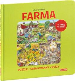 Obálka titulu Farma – Puzzle, omalovánky, kvízy