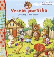 Veselá partička: Zvířátka v lesní školce
