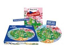 Obálka titulu Objevuj s puzzle: Česká republika