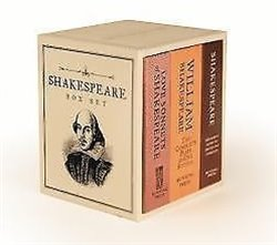 Obálka titulu Shakespeare Box Set (Miniature Editions)