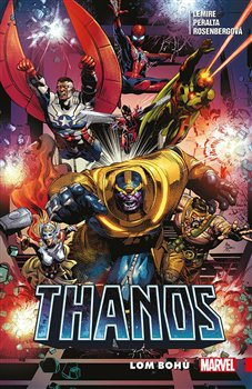 Obálka titulu Thanos 2: Lom bohů