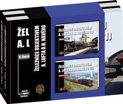 Obálka titulu Železnice objektivem A. Lufta a H. Navého - sada