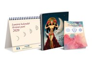 Lunární kalendář 2020 Krásné paní