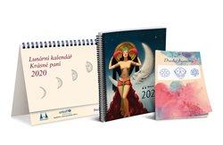 Obálka titulu Lunární kalendář 2020 Krásné paní