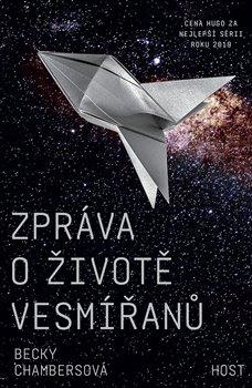 Obálka titulu Zpráva o životě vesmířanů