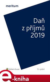 Obálka titulu Daň z příjmů 2019