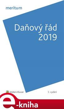 Obálka titulu Daňový řád 2019