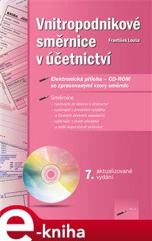 Obálka titulu Vnitropodnikové směrnice v účetnictví
