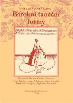 Obálka titulu Barokní taneční formy + DVD