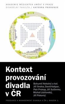 Obálka titulu Kontext provozování divadla v ČR