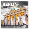 Obálka knihy Poznámkový kalendář Berlín 2020, 30 × 30 cm