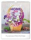 Obálka knihy Nástěnný kalendář Sweet home 2020, 30 × 34 cm