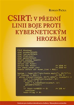 Obálka titulu CSIRT: v přední linii boje proti kybernetickým hrozbám