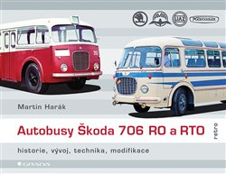 Obálka titulu Autobusy Škoda 706 RO a RTO
