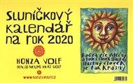 Sluníčkový kalendář 2020 - stolní